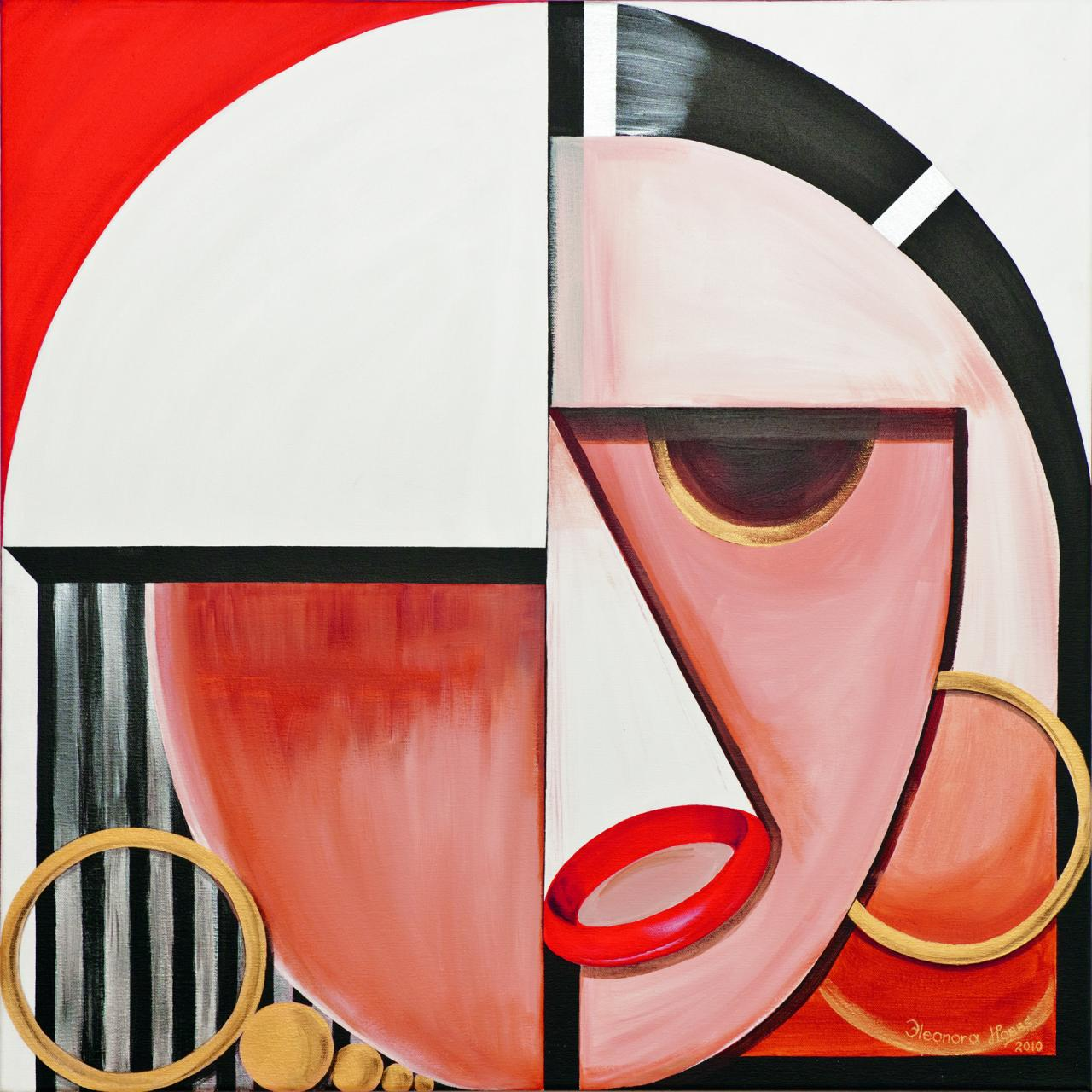 Famous Paintings Using Geometric Shapes - Painting Ideas